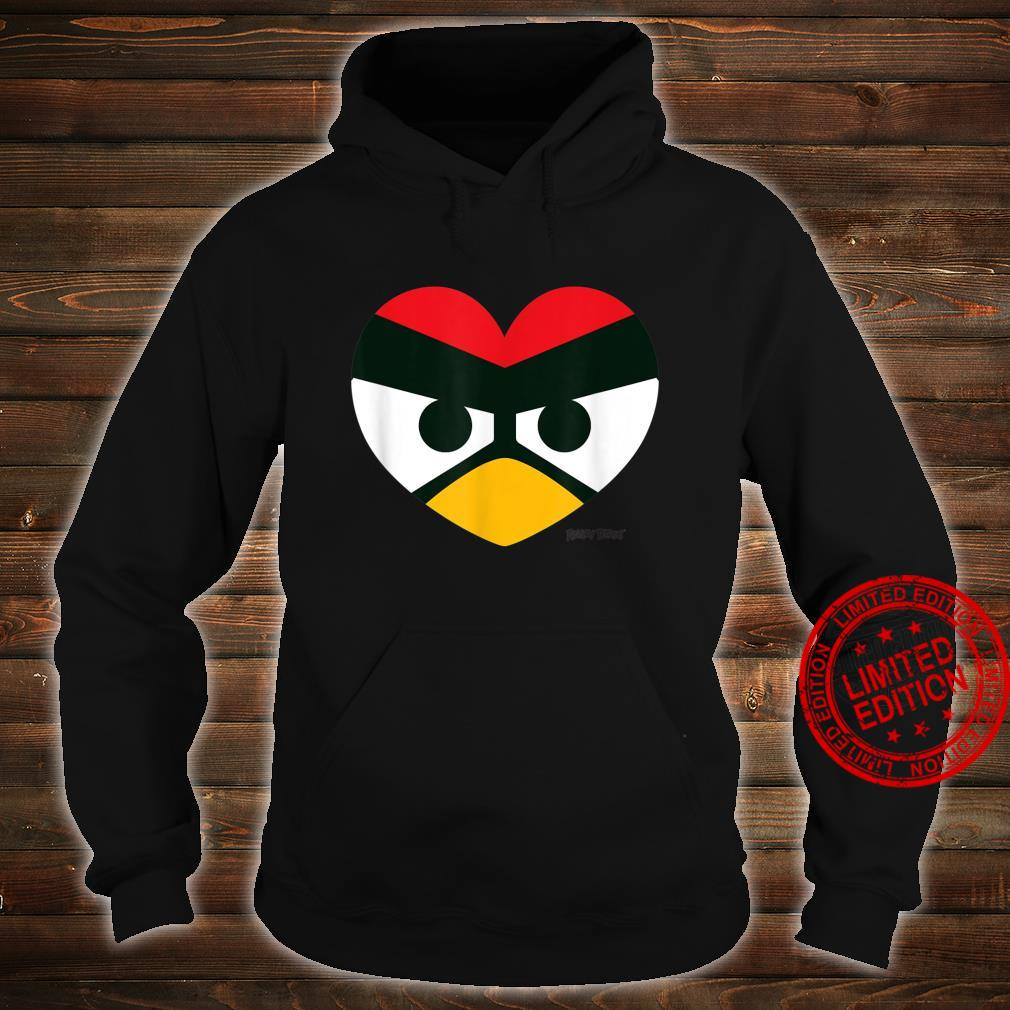 Angry Birds Red Heart Official Merchandise Shirt hoodie