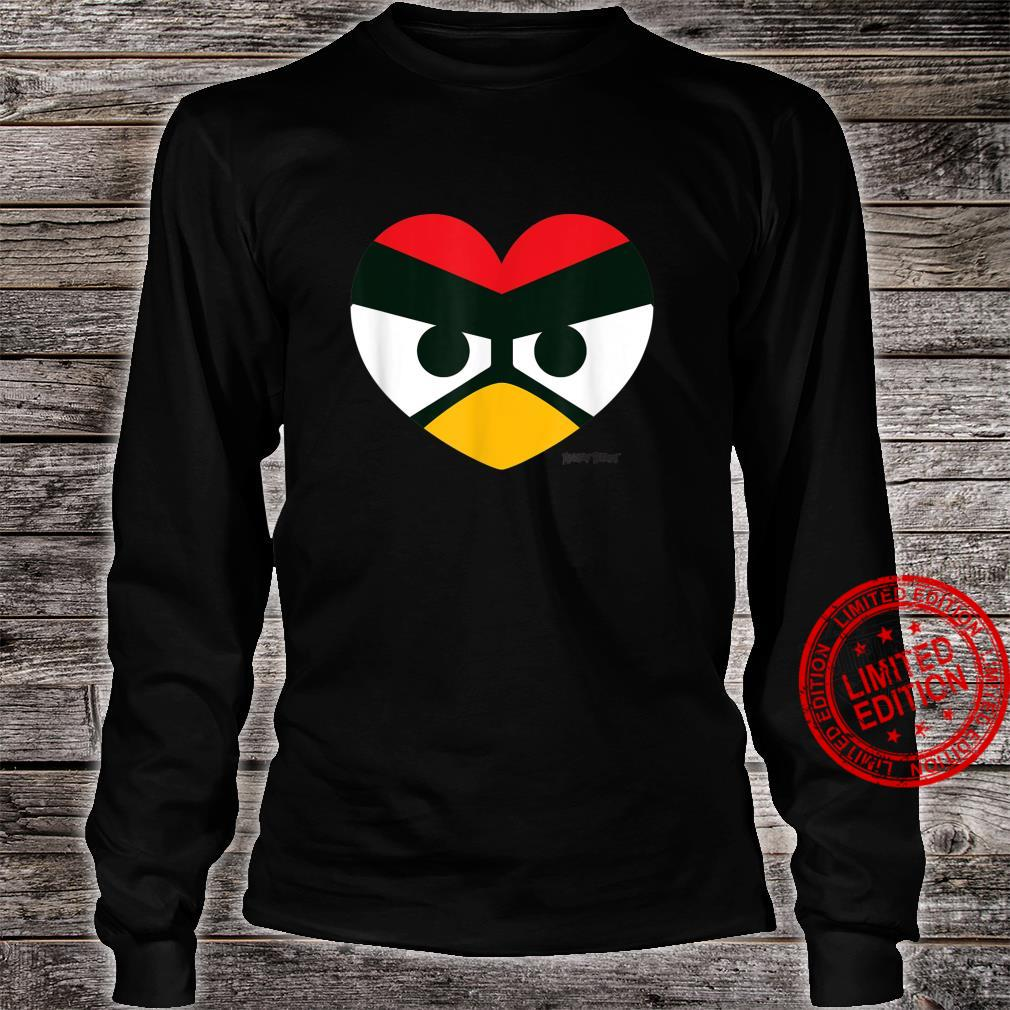 Angry Birds Red Heart Official Merchandise Shirt long sleeved