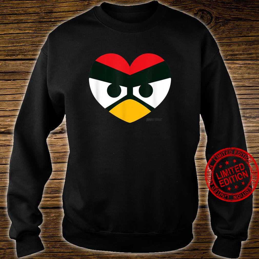 Angry Birds Red Heart Official Merchandise Shirt sweater