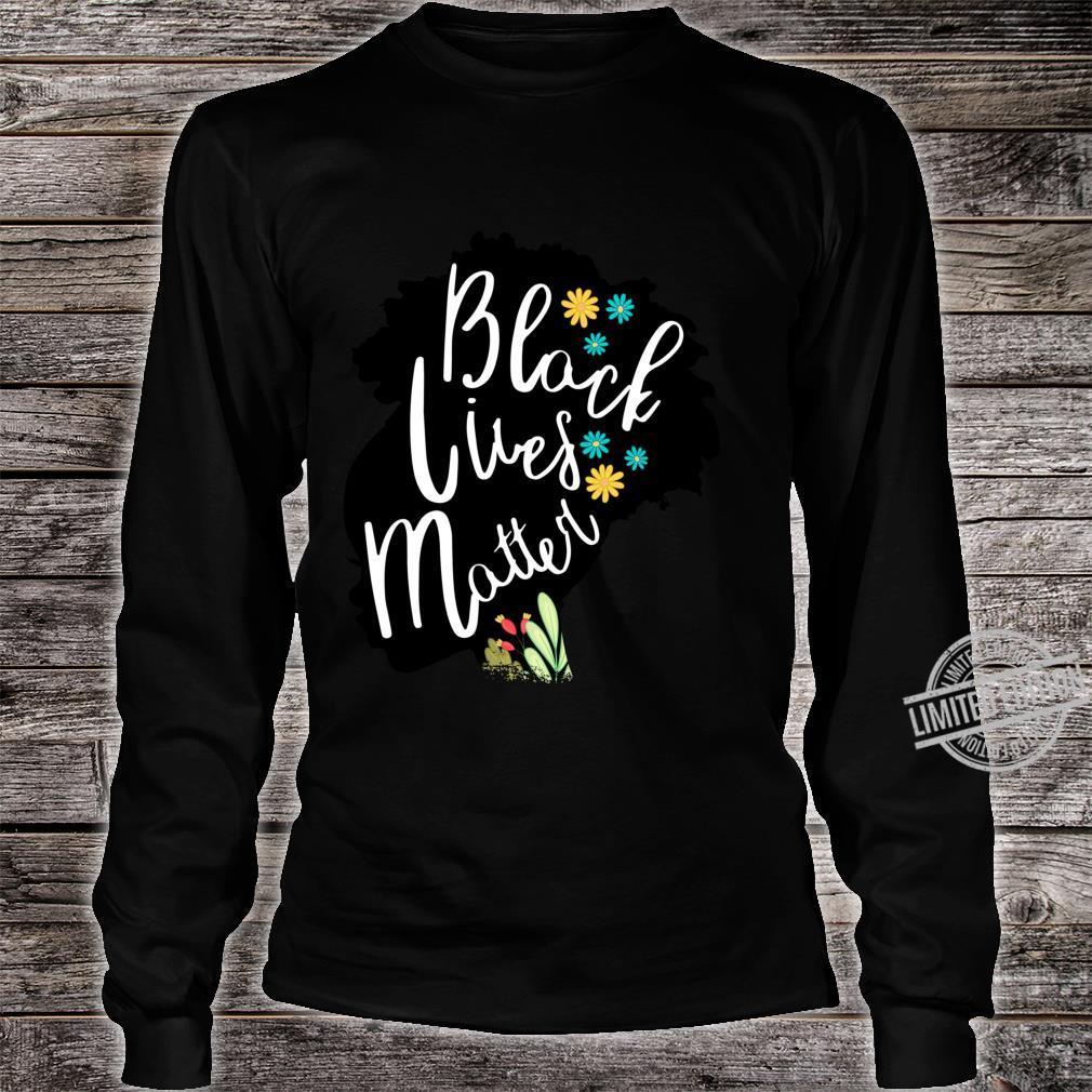 BLACK POWER HISTORY MELANIN POPPIN AFRICA Girl Langarmshirt Shirt long sleeved