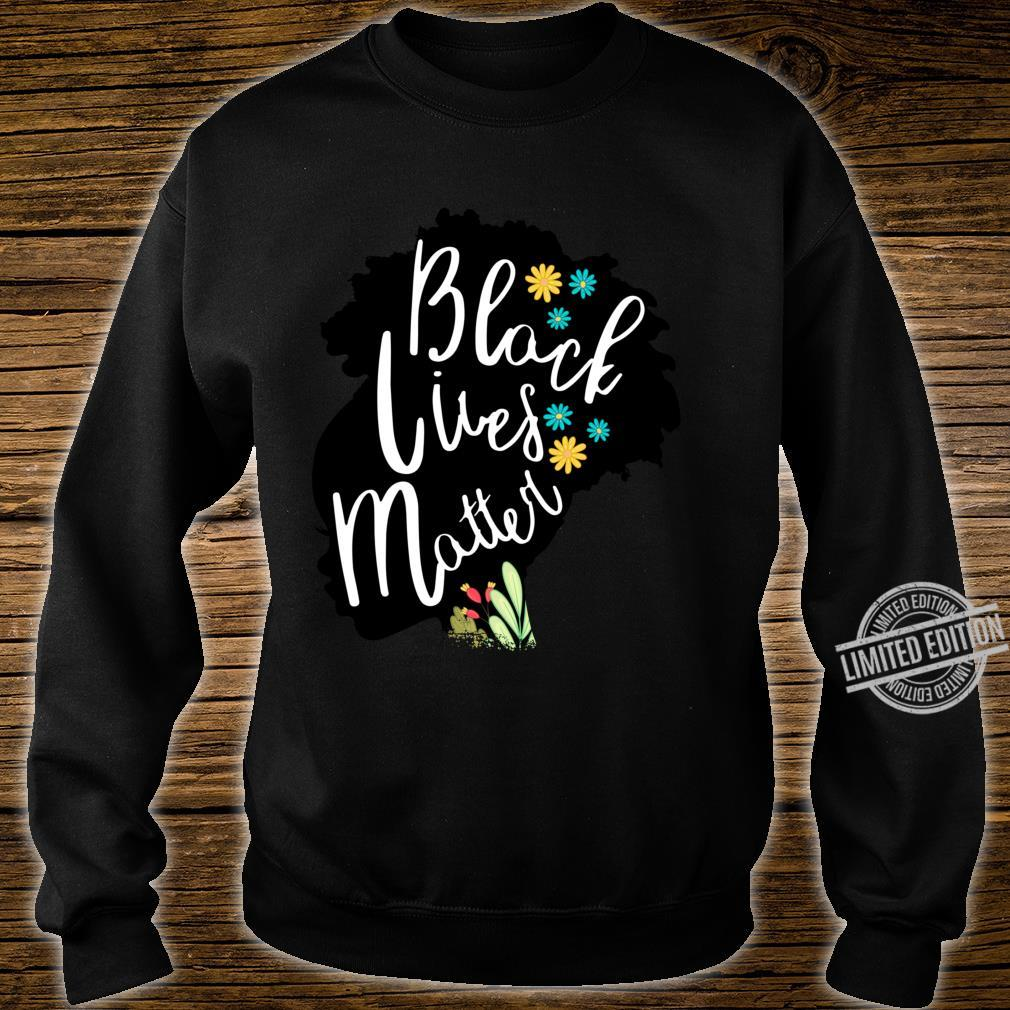 BLACK POWER HISTORY MELANIN POPPIN AFRICA Girl Langarmshirt Shirt sweater