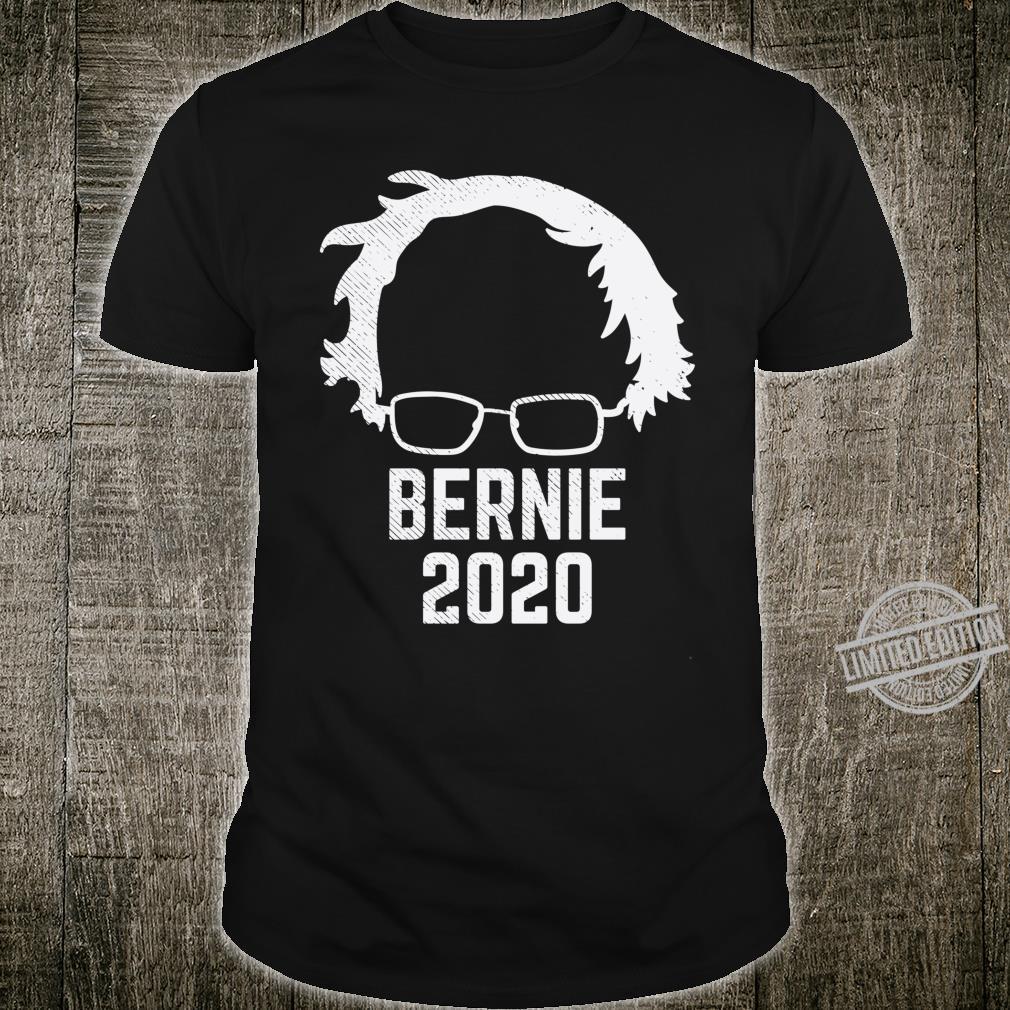 Bernie 2020 Sanders Silhouette Wig 2020 Election President Shirt