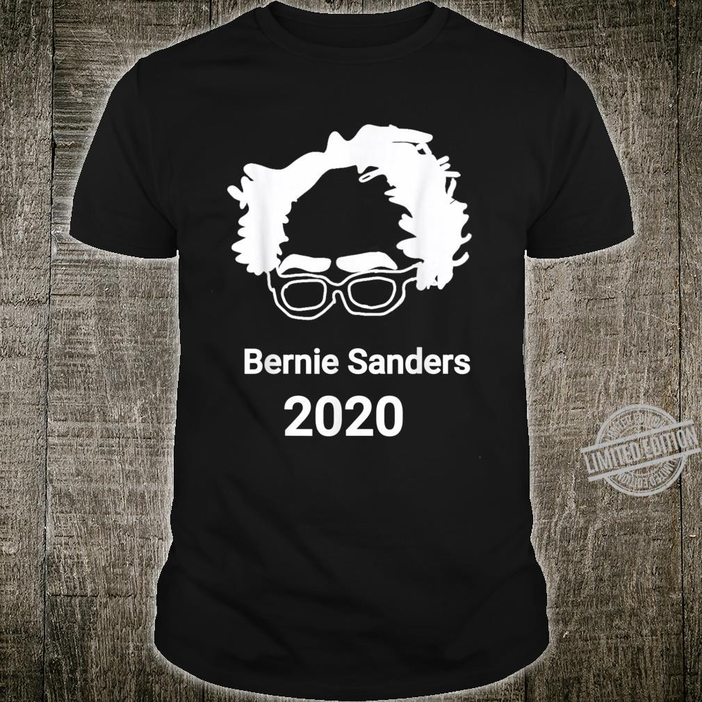 Bernie Sanders Hair And Glasses president USA 2020 Bernie Shirt