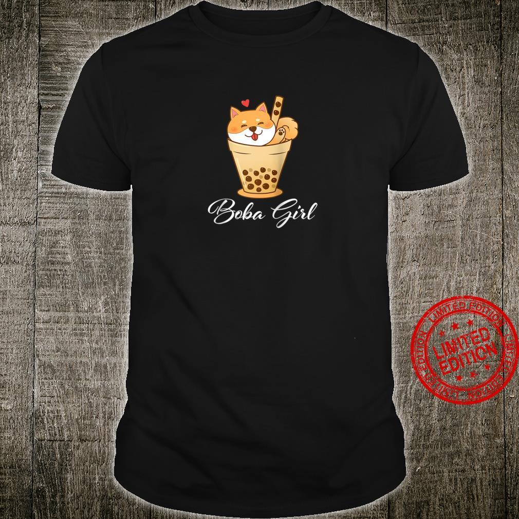 Boba Girl I love Boba milk Tea Bubble Drinks Shirt