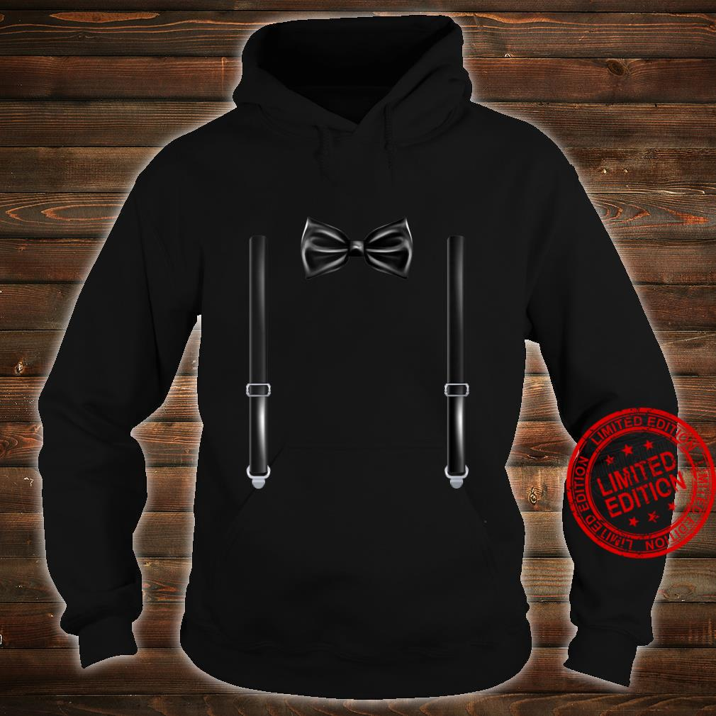 Bow Tie With Suspenders Wedding And Special Occasions Shirt hoodie