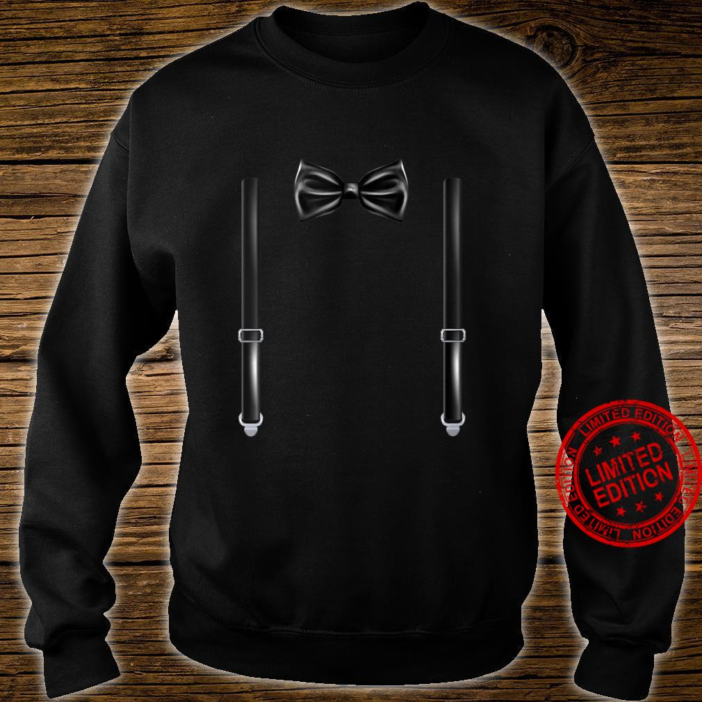 Bow Tie With Suspenders Wedding And Special Occasions Shirt sweater