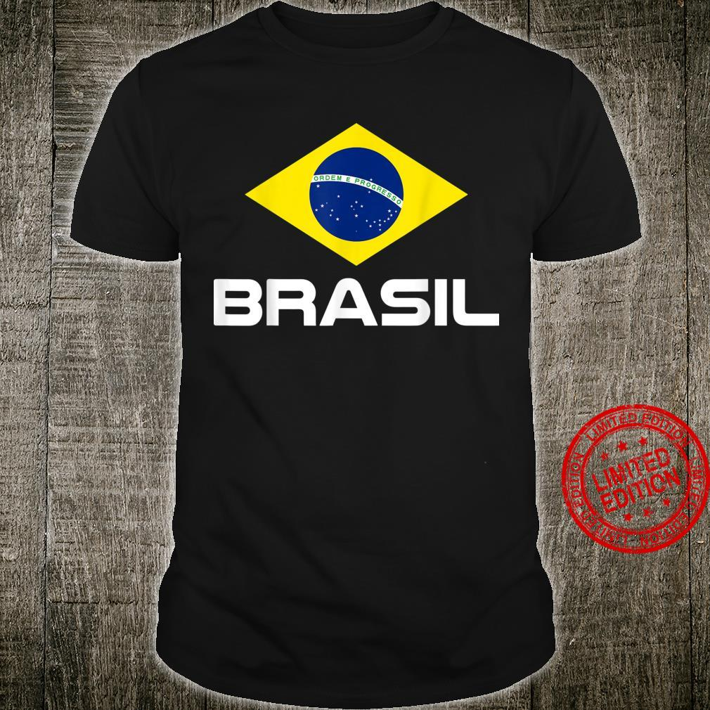 Brazil Football Fan Brasil Shirt
