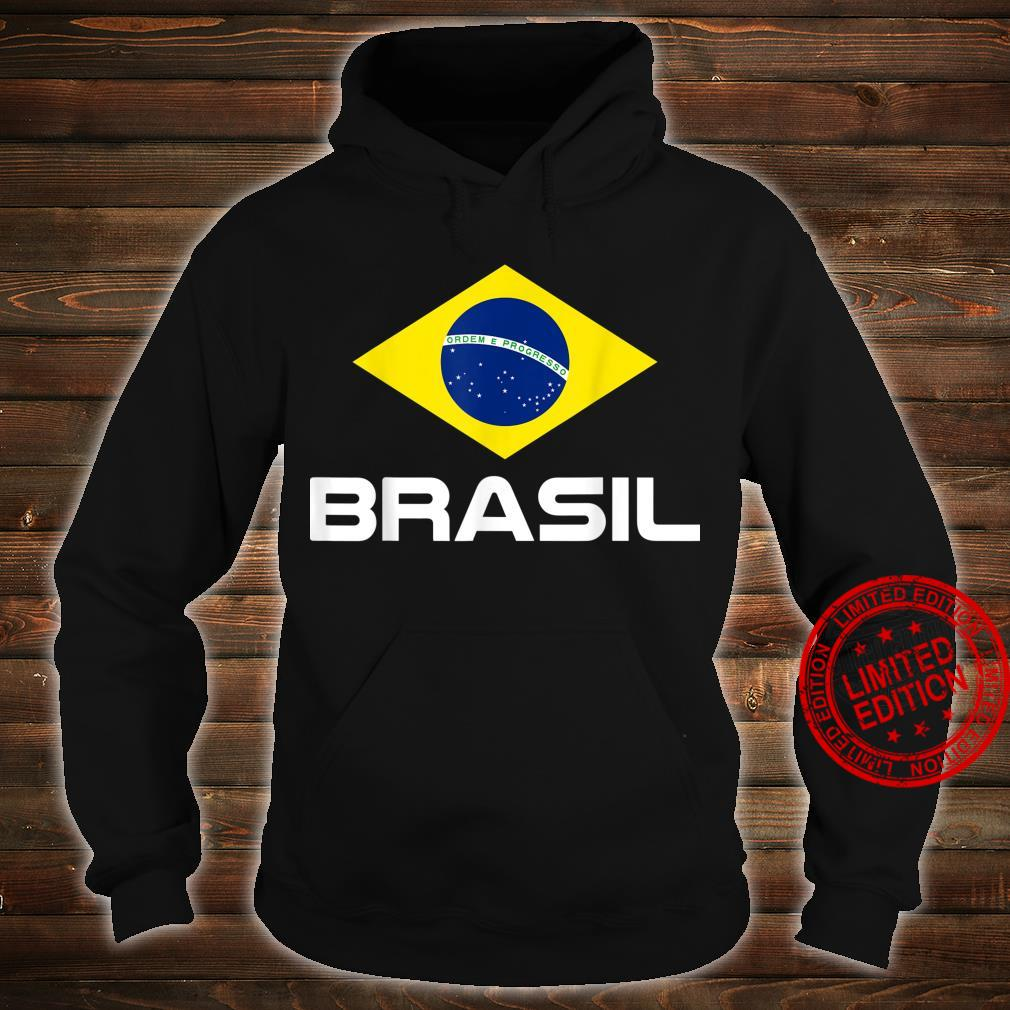 Brazil Football Fan Brasil Shirt hoodie