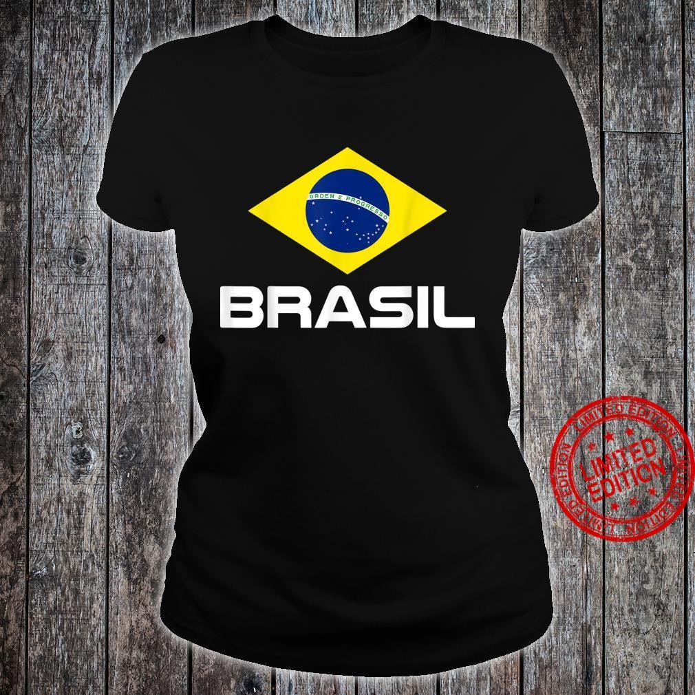 Brazil Football Fan Brasil Shirt ladies tee