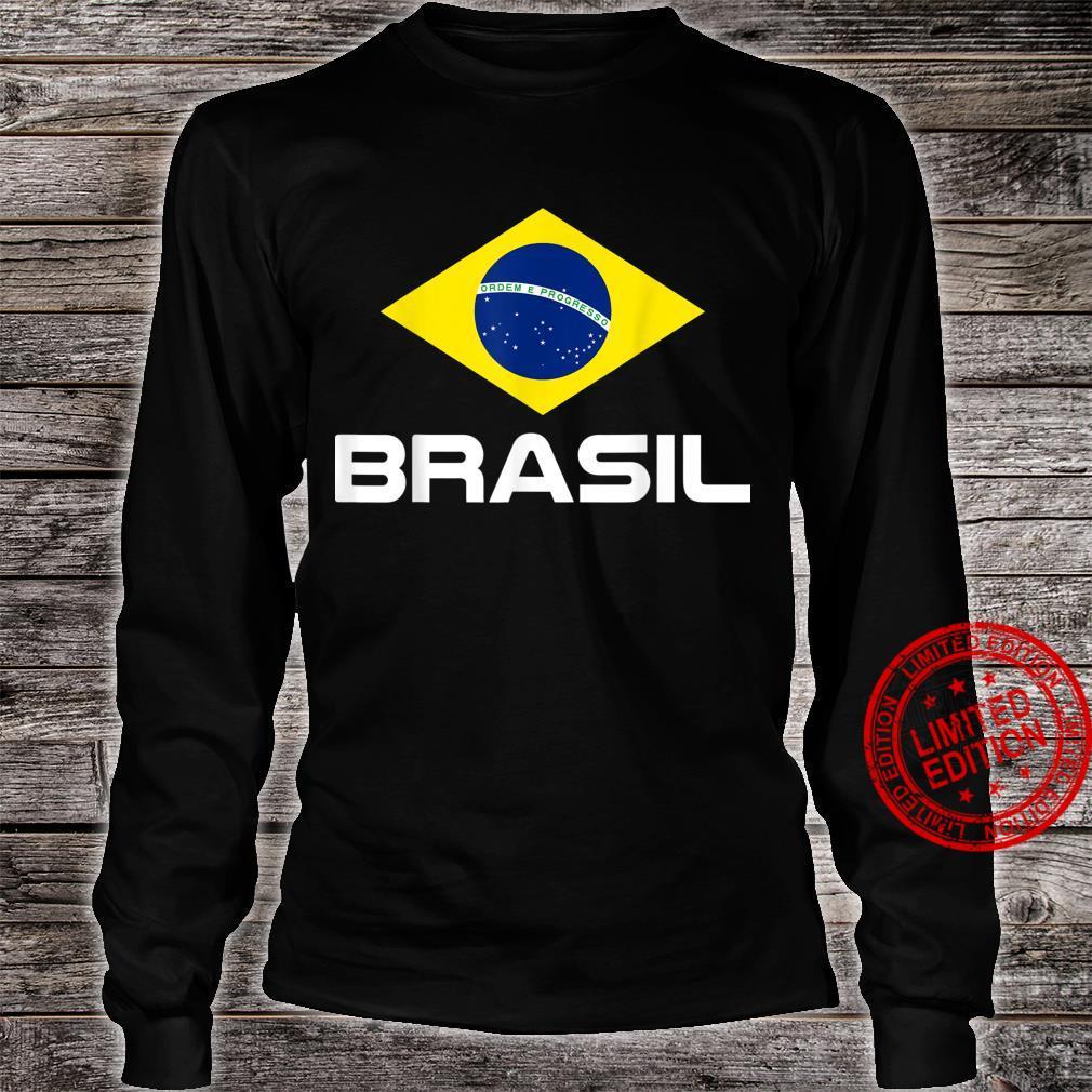 Brazil Football Fan Brasil Shirt long sleeved