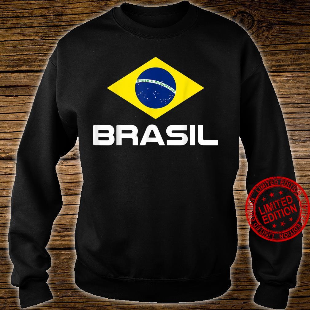 Brazil Football Fan Brasil Shirt sweater