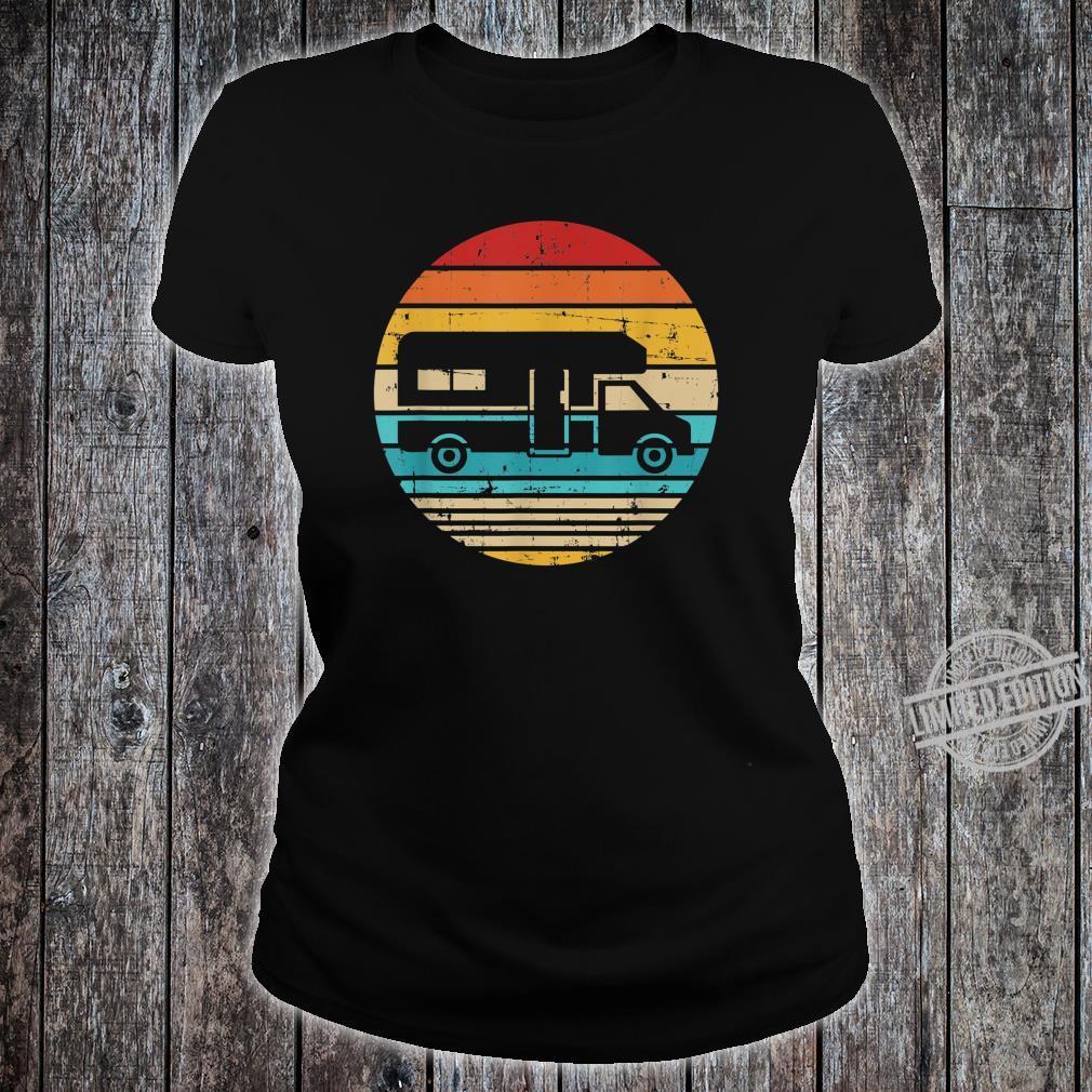 Camping vintage RV Shirt ladies tee