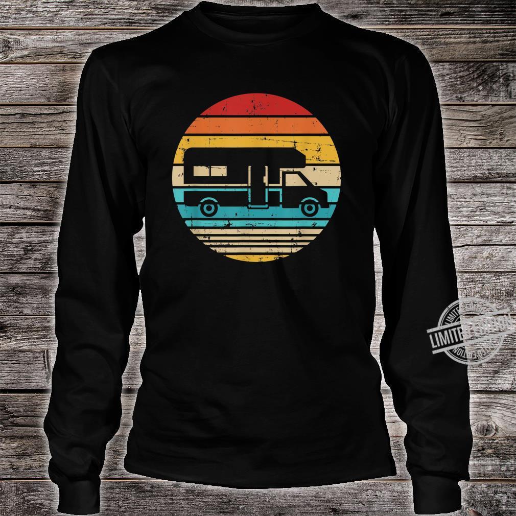 Camping vintage RV Shirt long sleeved