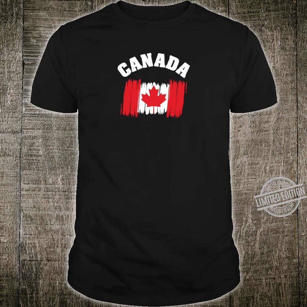 Canada Flag Canadian Leaf Toronto Hockey Shirt