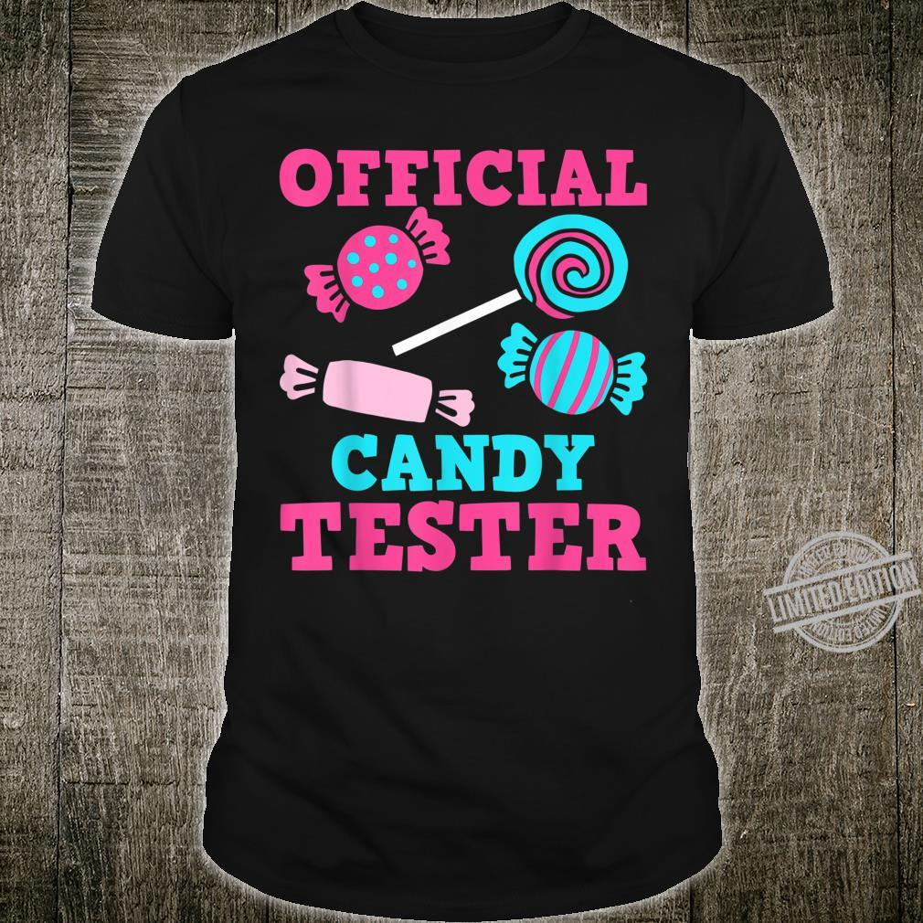 Candy Tester Lazy Halloween Costume Shirt