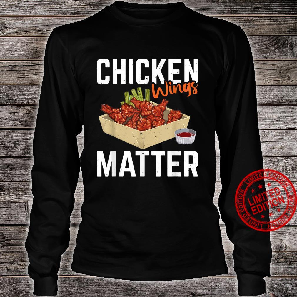 Chicken Wing Matter Foods Shirt long sleeved