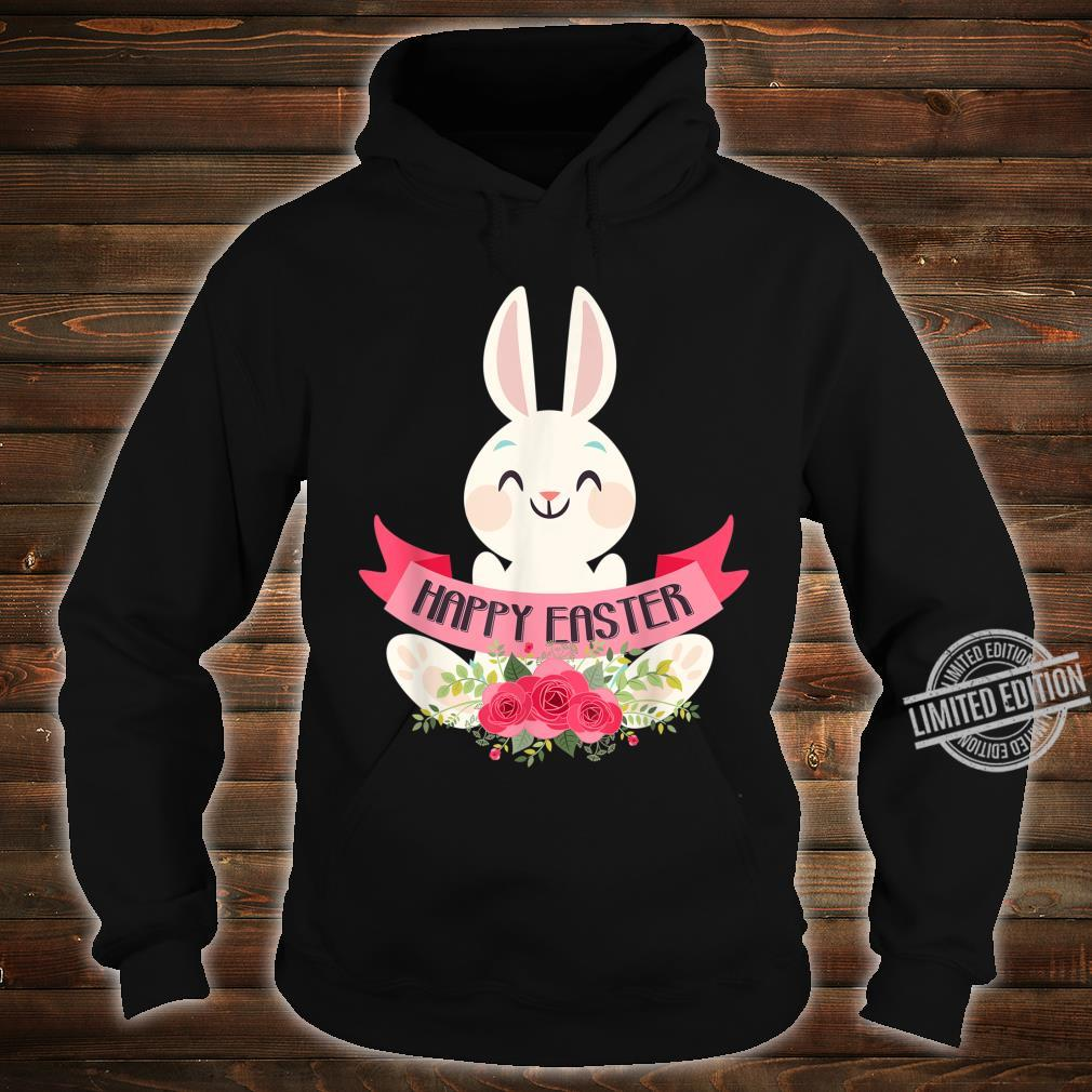 Cute Bunny Rabbit Eggs Easter Girls Boys Happy Easter Day Shirt hoodie