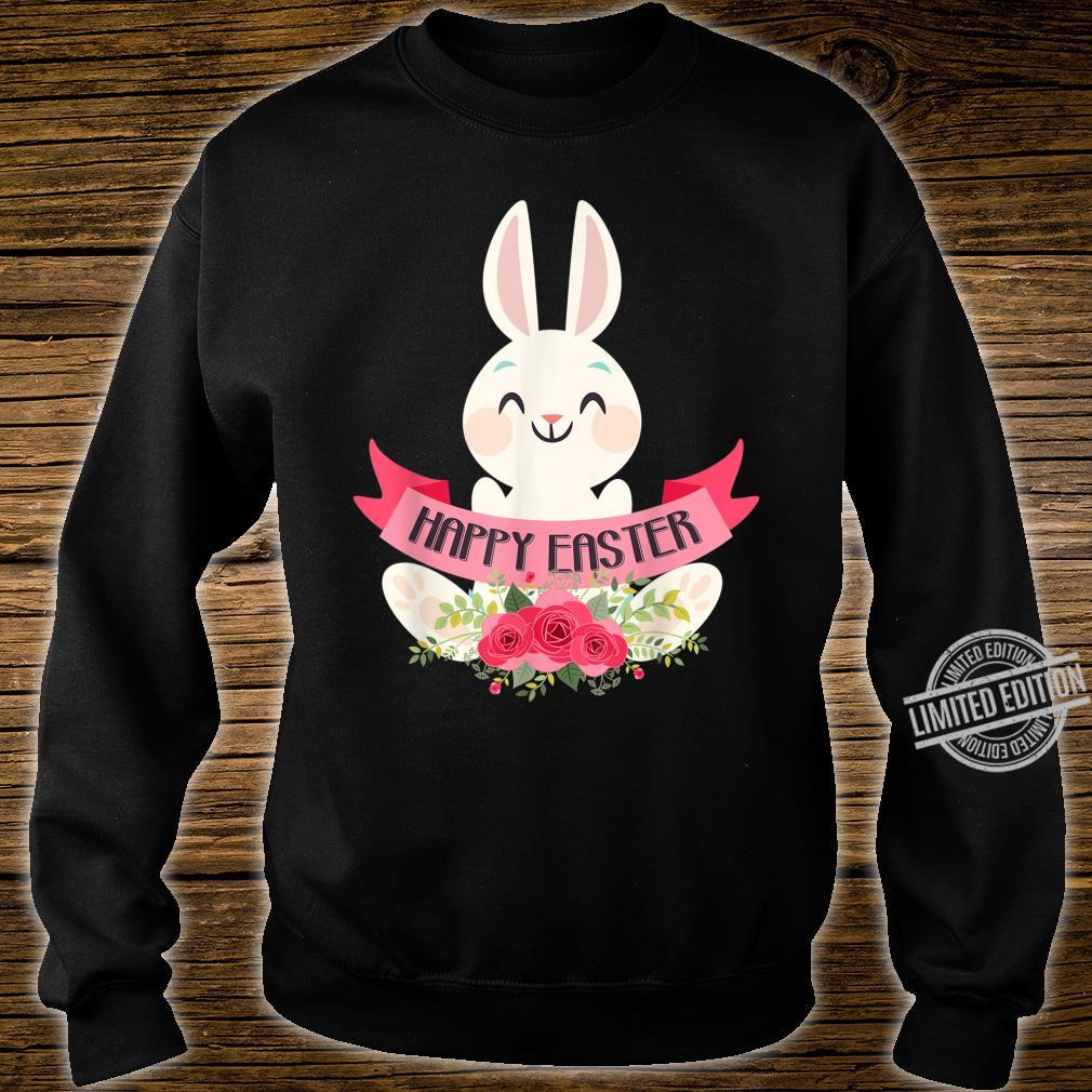 Cute Bunny Rabbit Eggs Easter Girls Boys Happy Easter Day Shirt sweater