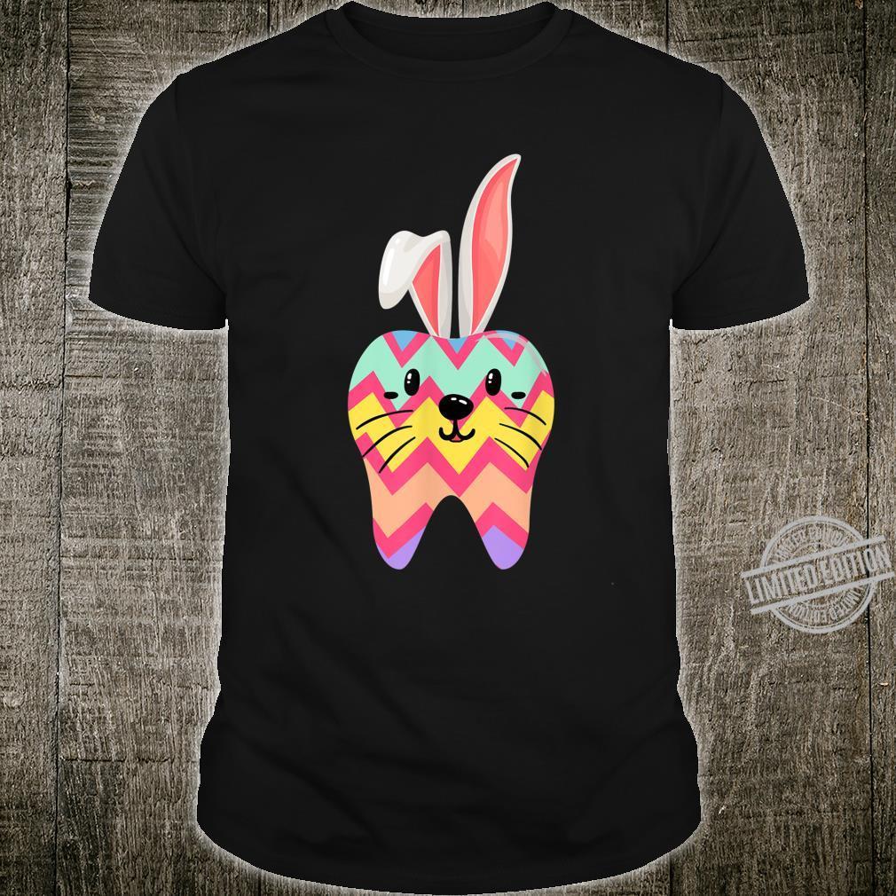 Dental Hygienist Eggcellent Easter Bunny Tooth Doctor Shirt