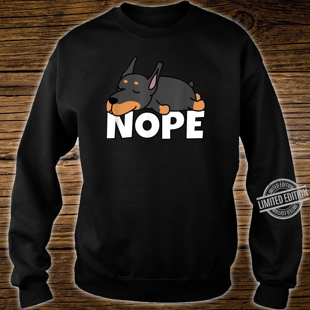Doberman Pinscher T Shirt Dont Mess with Doberman Pinscher Tee Shirt