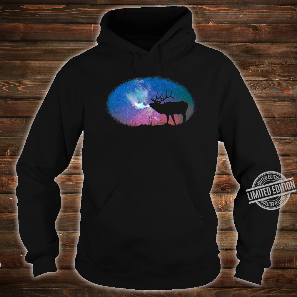 Elkaholic American Bull Elk Hunter Dad Bow Hunting Cool Shirt hoodie