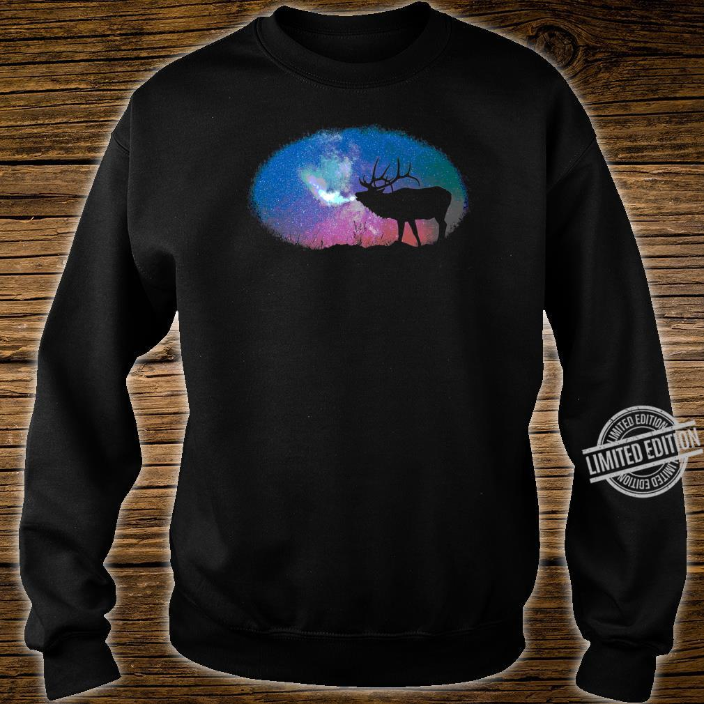 Elkaholic American Bull Elk Hunter Dad Bow Hunting Cool Shirt sweater