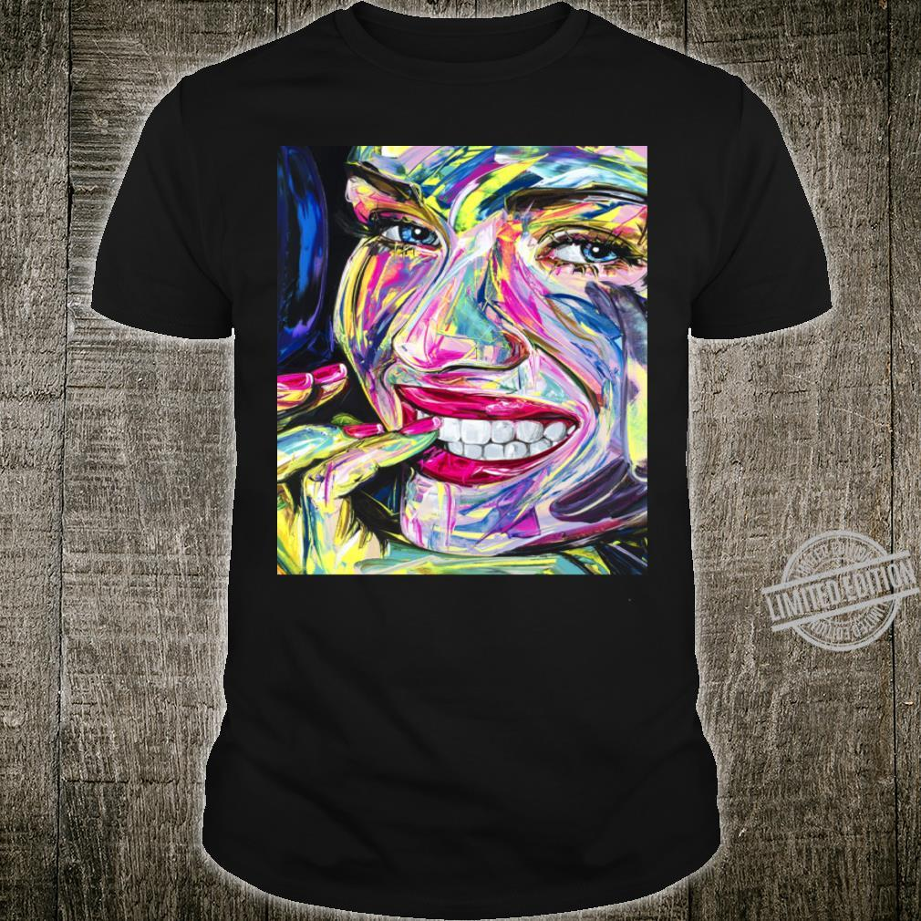 Face Oil Painting, Wall Art Pictures Home, made by Raphael Laventure. Shirt