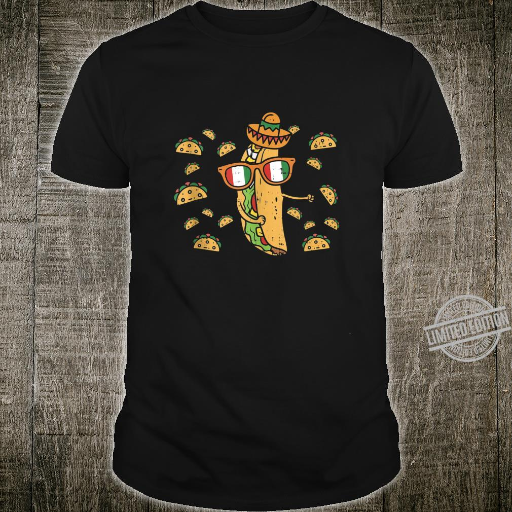 Flossing Taco Dance Cinco De Mayo Floss Mexican Food Shirt