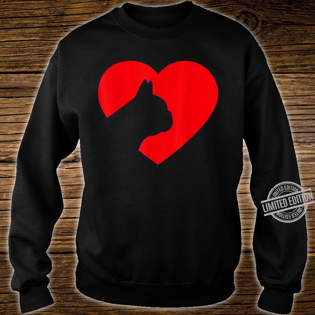 French Bulldog Heart Dog Love Shirt sweater