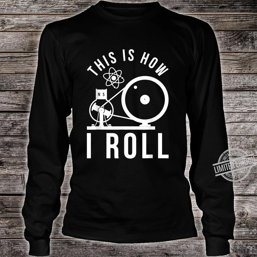 Funny Science Teacher Physicist Laws Physics Shirt long sleeved