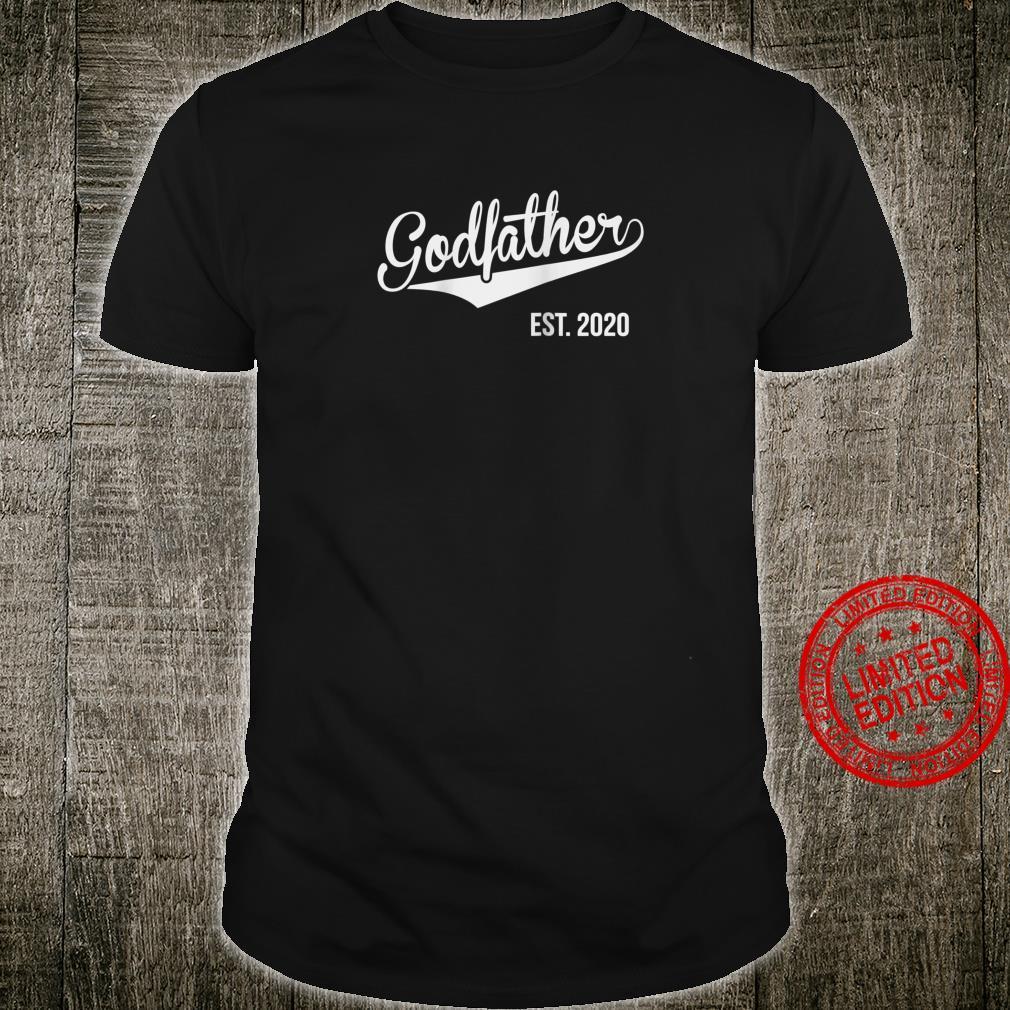 Godfather Est. 2020 Pregnancy Announcement Shirt