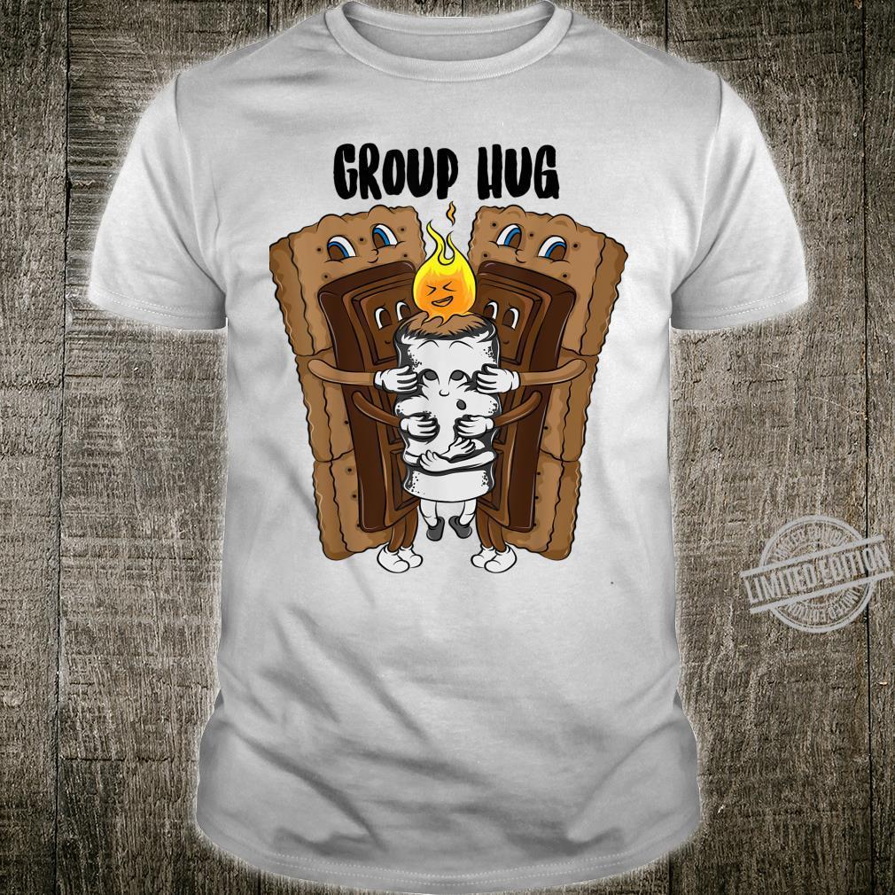 Group Hug S'Mores Cool Roasted Choco Marshmallows Shirt
