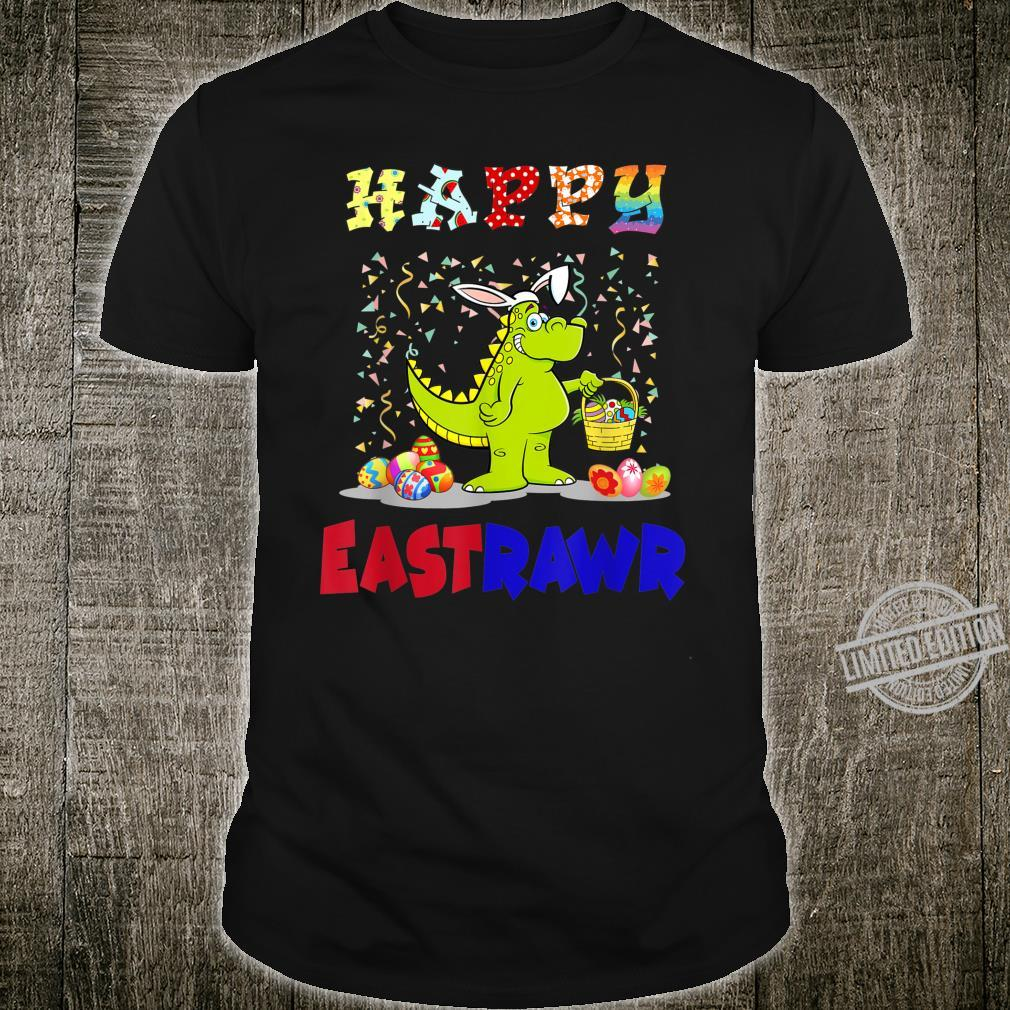 Happy Eastrawr Bunny TRex Easter Day Dinosaurs Shirt