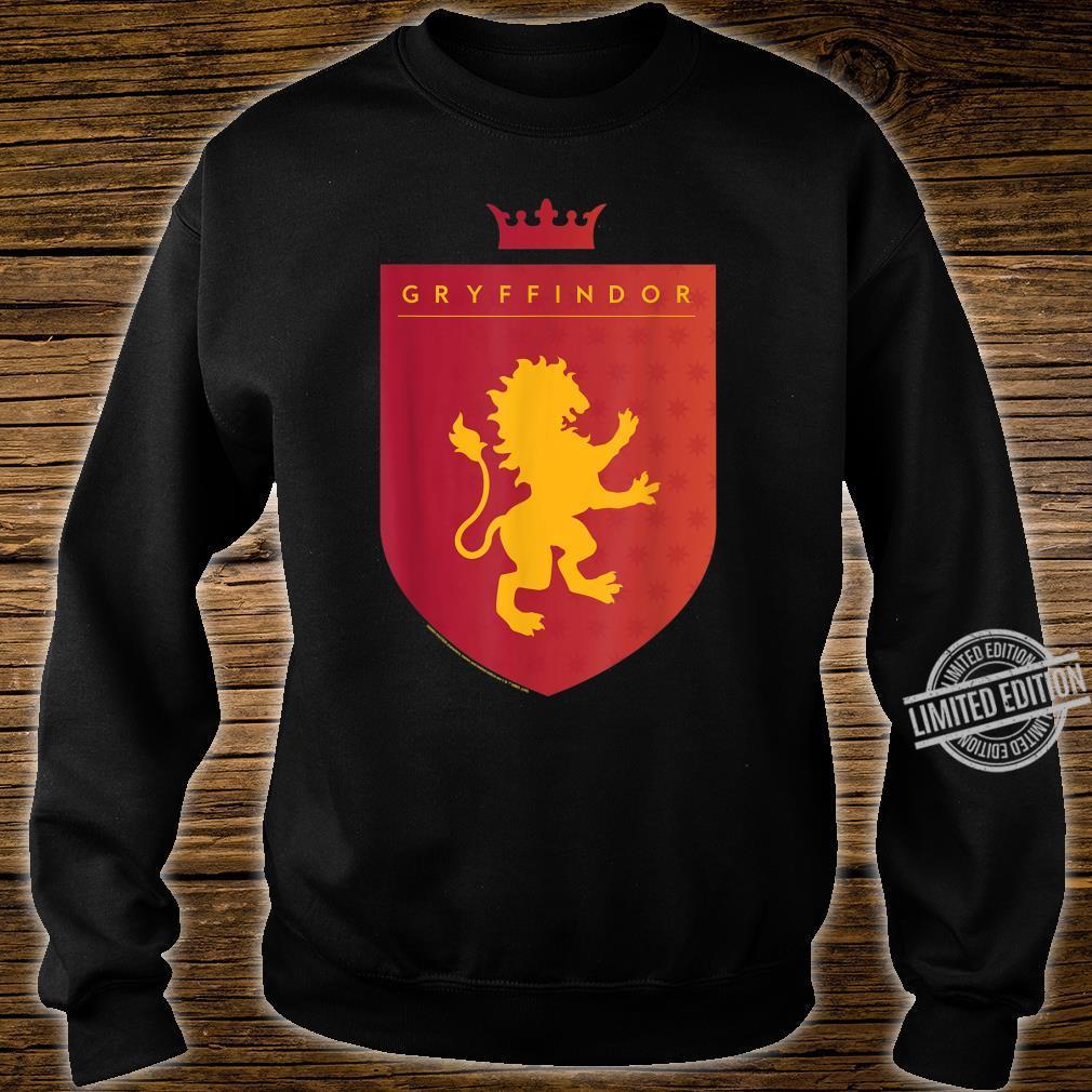 Harry Potter Gryffindor Shield Crest Shirt sweater