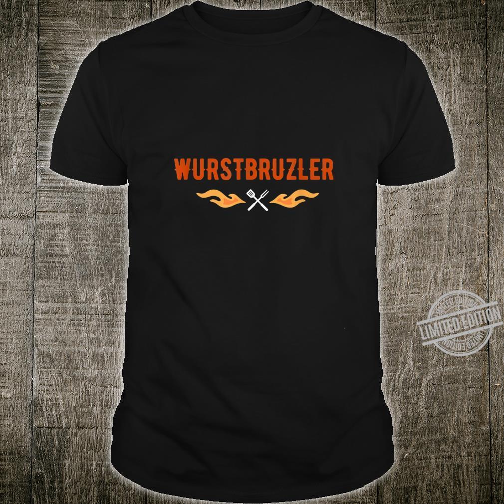 Herren Wurstbrutzler Geschenk für Griller BBQ Papa Shirt
