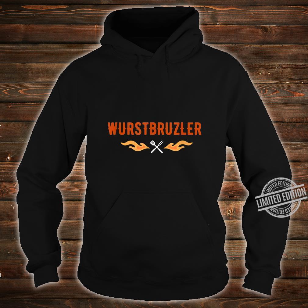 Herren Wurstbrutzler Geschenk für Griller BBQ Papa Shirt hoodie