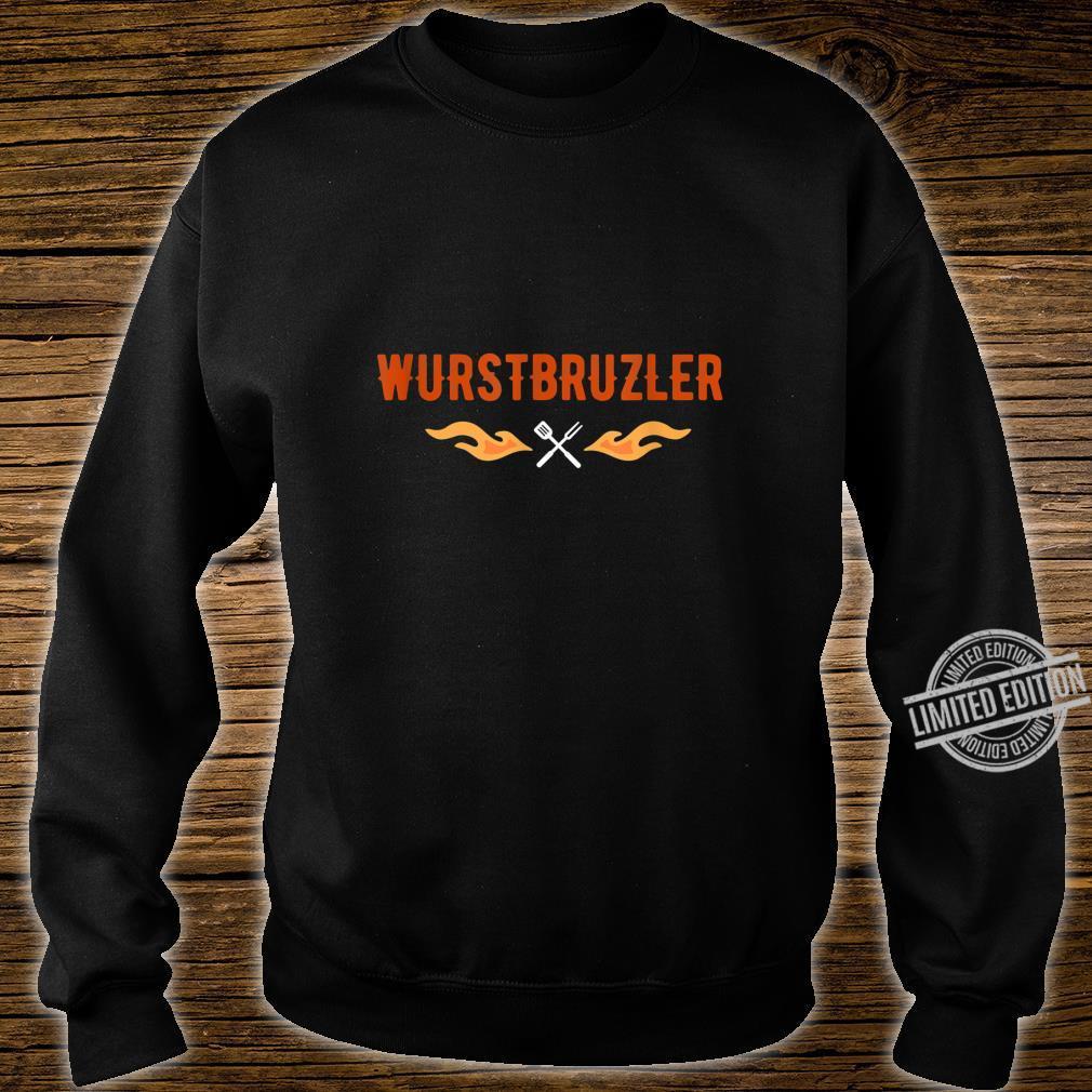 Herren Wurstbrutzler Geschenk für Griller BBQ Papa Shirt sweater