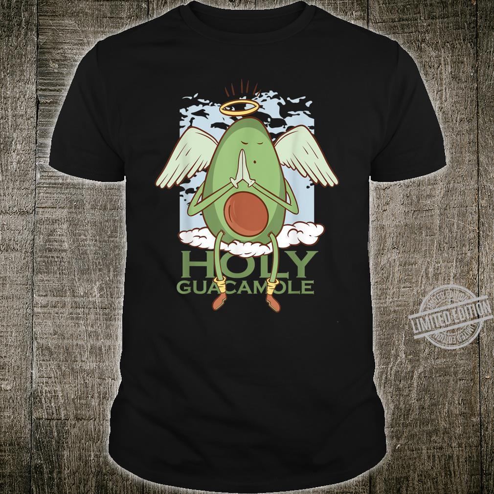 Holy Guacamole Shirt I Avocado Lustiges Veganer Shirt