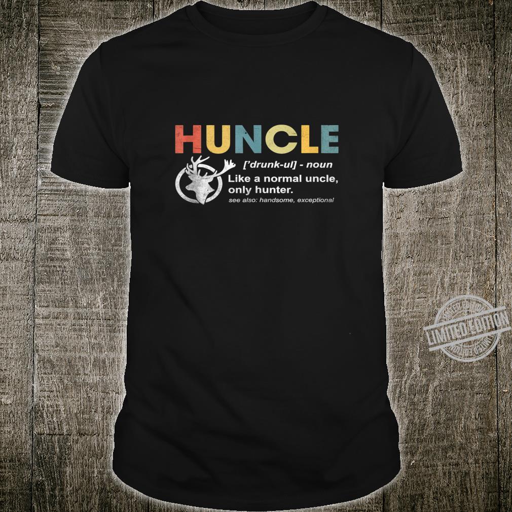 Huncle Beer Design For Drunk Uncles Shirt