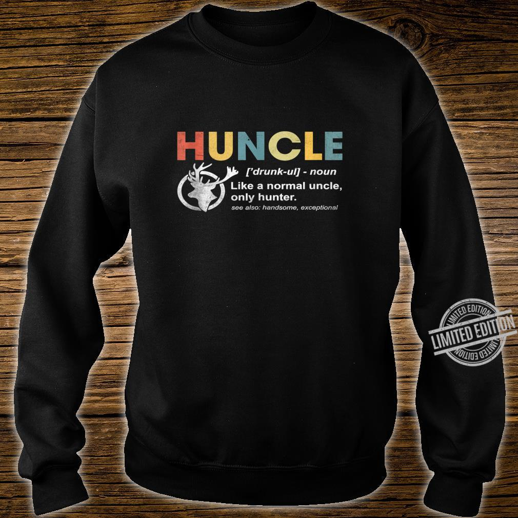 Huncle Beer Design For Drunk Uncles Shirt sweater