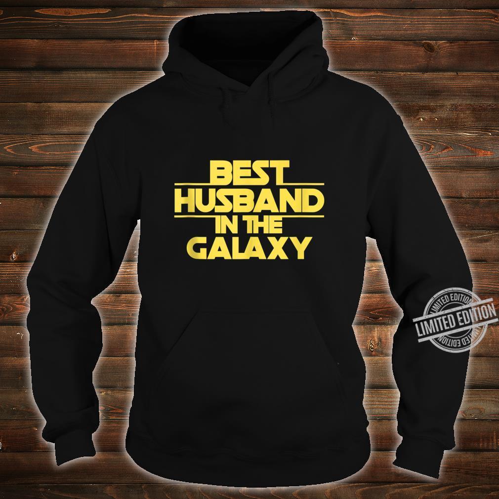 Husband Gift, Best Husband Best Husband In The Galaxy Shirt hoodie