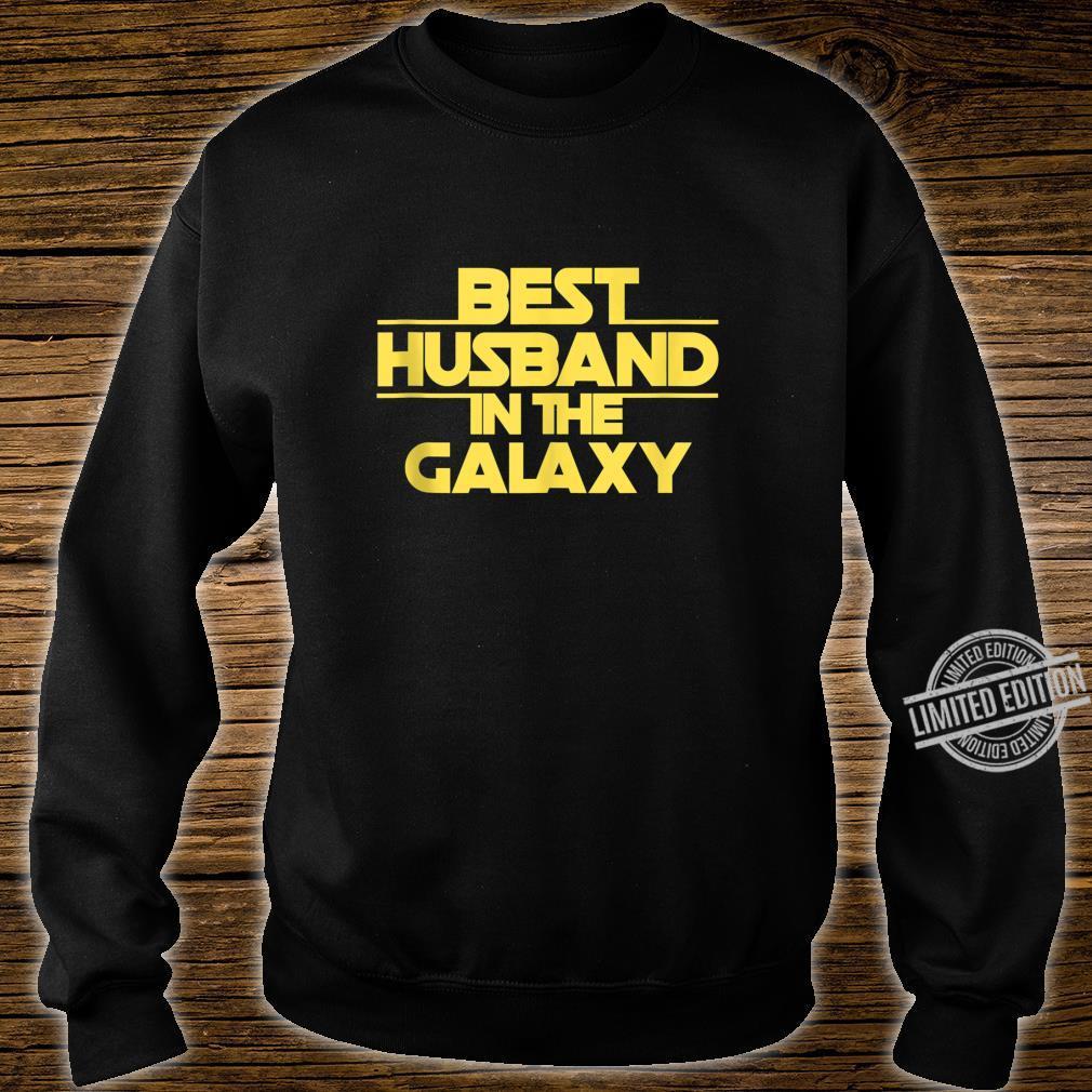 Husband Gift, Best Husband Best Husband In The Galaxy Shirt sweater