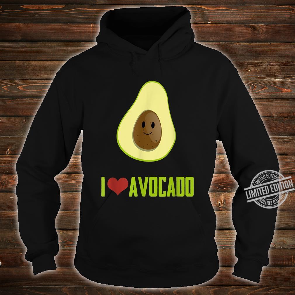 I Love Avocado Cute Food Shirt hoodie