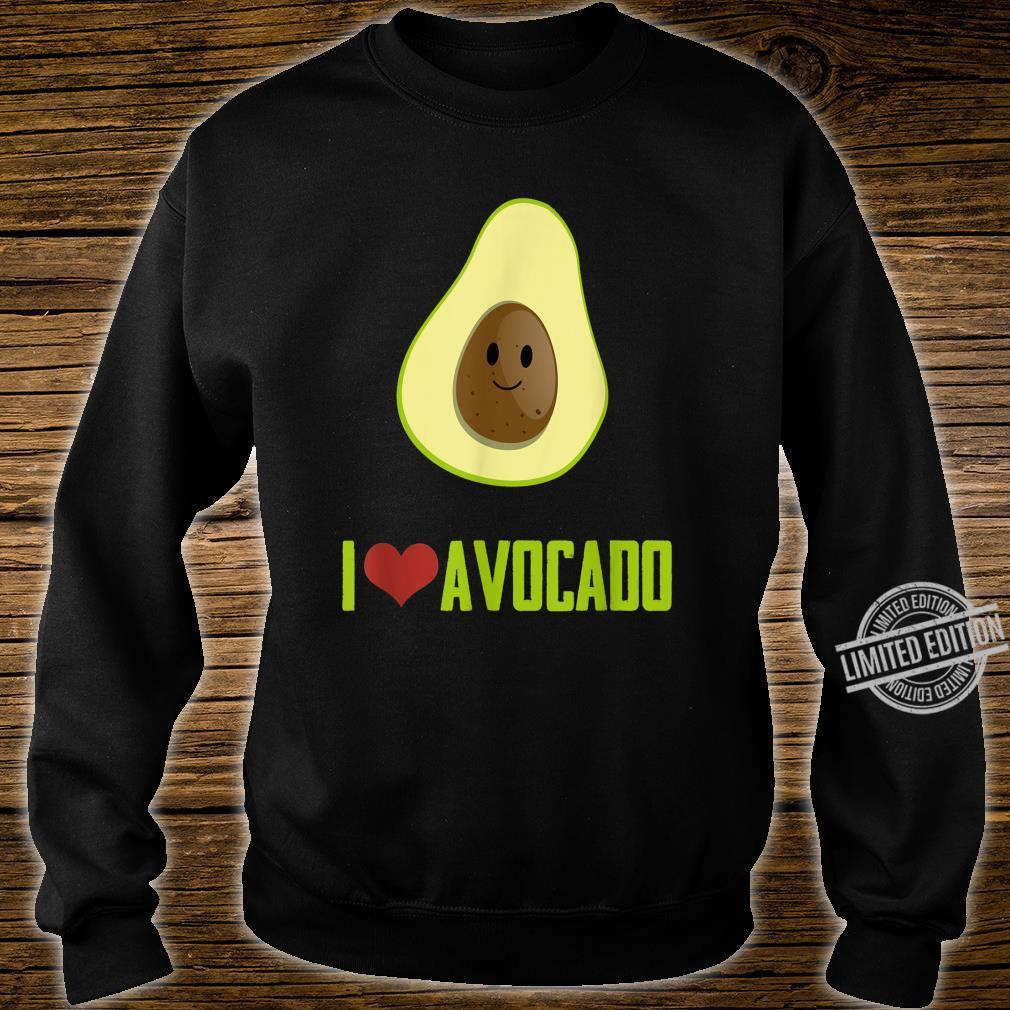 I Love Avocado Cute Food Shirt sweater
