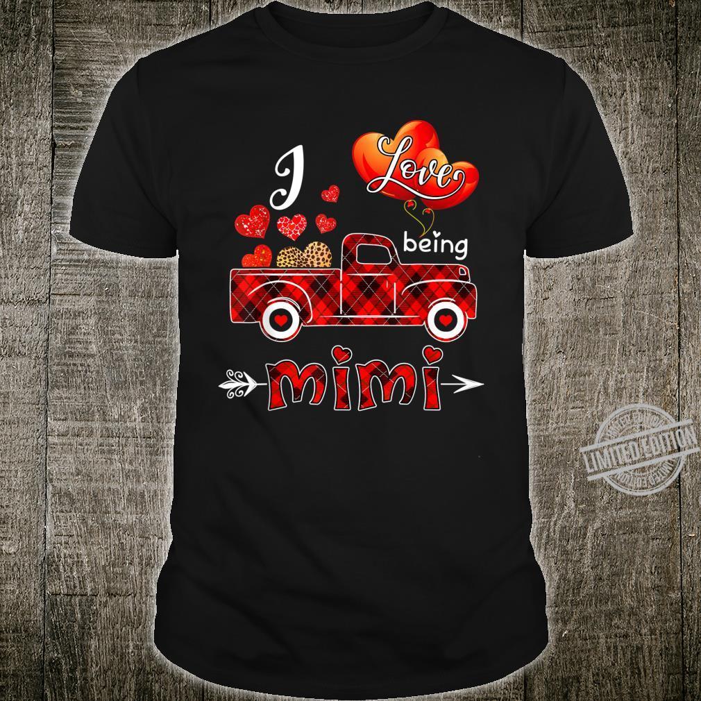 I Love Being Mimi Plaid Truck St Patricks Day Shirt