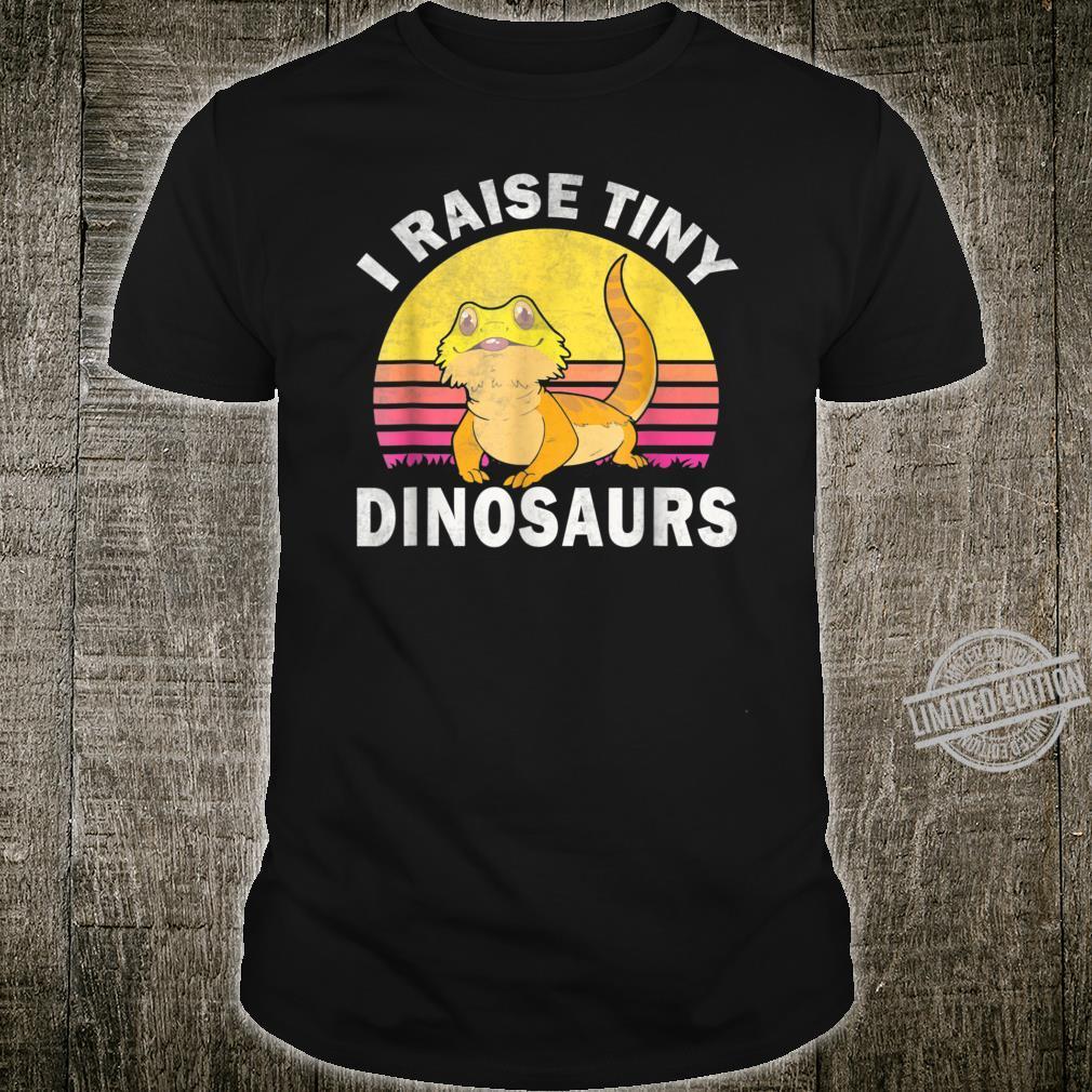 I Raise Tiny Dinosaurs Great Bearded Dragons Shirt