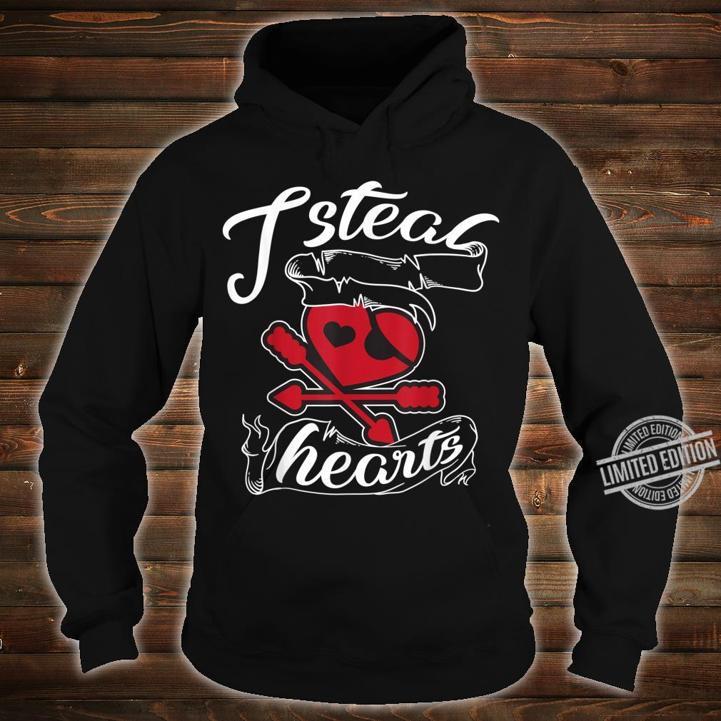 I Steal Hearts Pirate Cool Freebooters Love Shirt hoodie
