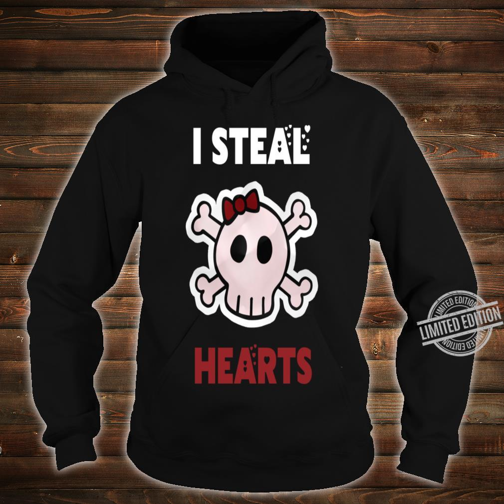 I Steal Hearts Valentines Day Shirt hoodie