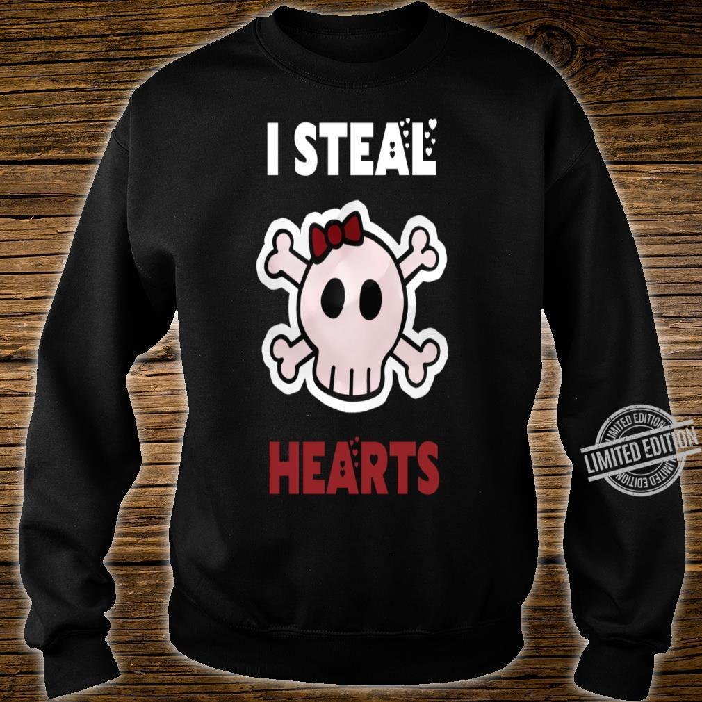 I Steal Hearts Valentines Day Shirt sweater