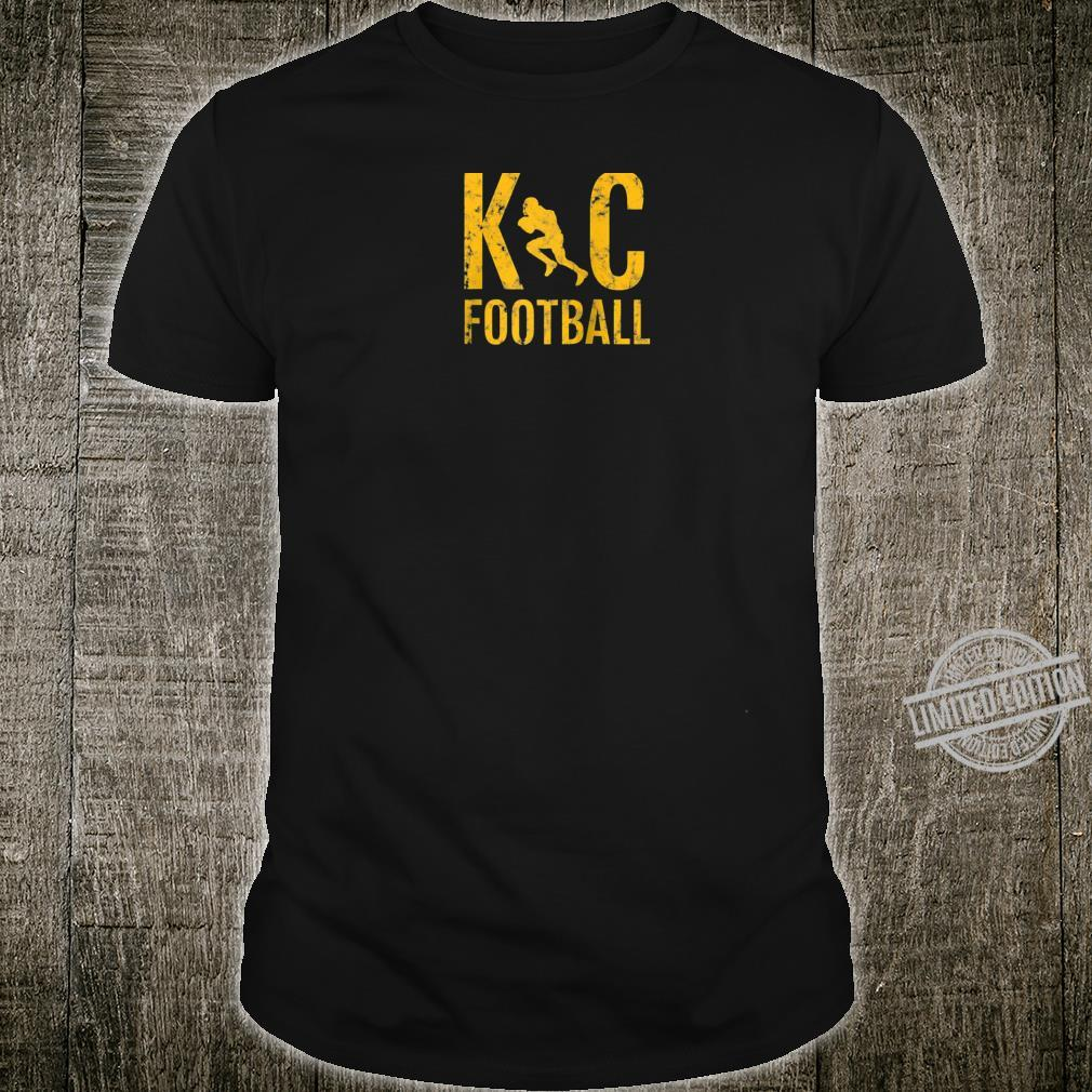 KC 2020 Yellow Red Game for Local High School Football Shirt